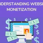 Explains about website monetization