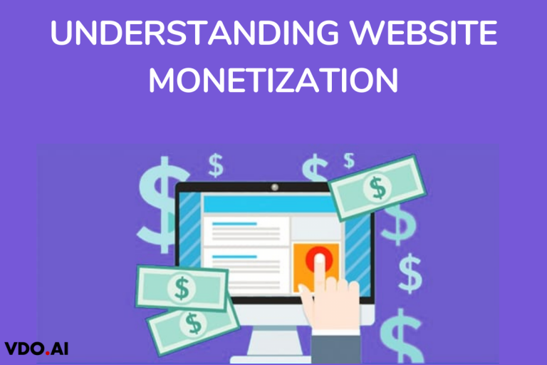 Explains about website monetization