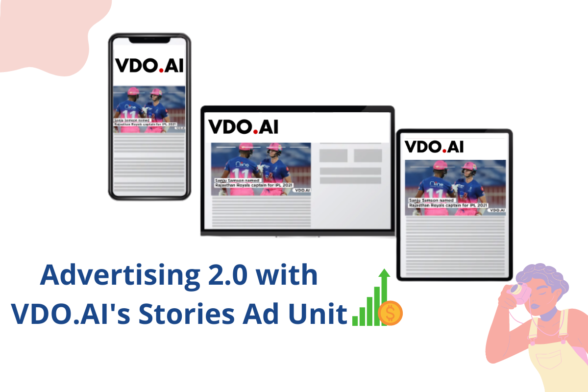 Monetize your website with VDO.AI