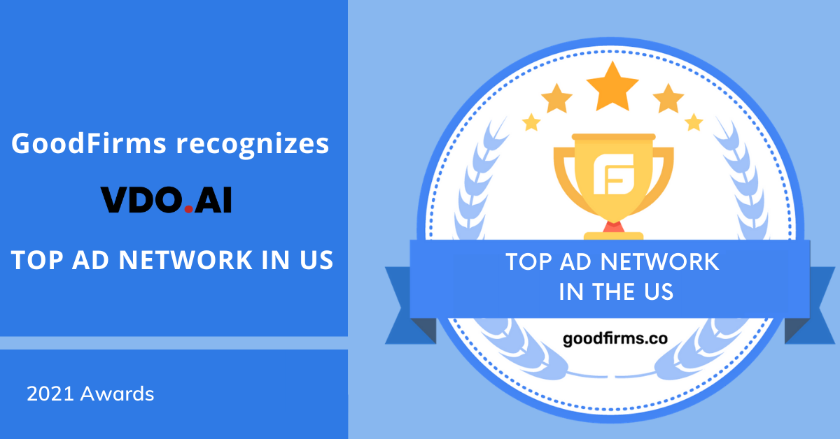 VDO.AI Recognized as Top Ad Network in the US